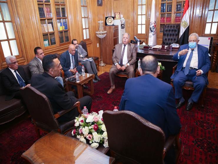 تفاصيل لقاء نقيب المحامين مع وفد العشائر الفلسطينية في قطاع غزة