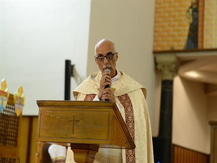 في أول يوم بعد توليه منصبه.. رئيس الأسقفية لمهنئيه: نتطلع لاستمرار التعاون