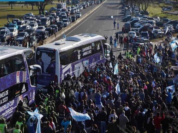 بالفيديو.. استقبال جماهير الأرجنتين لأبطال كوبا أمريكا