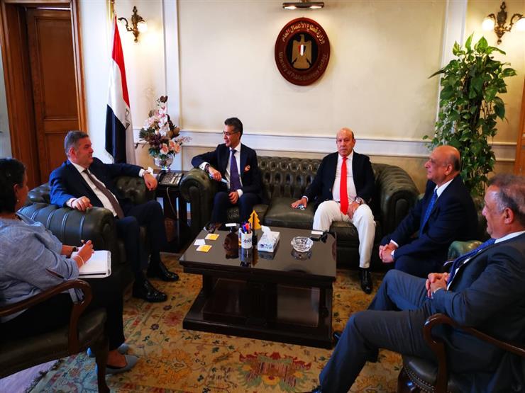 """وزير قطاع الأعمال يبحث مع شركة """"ماريوت"""" تعزيز التعاون في إدارة الفنادق"""