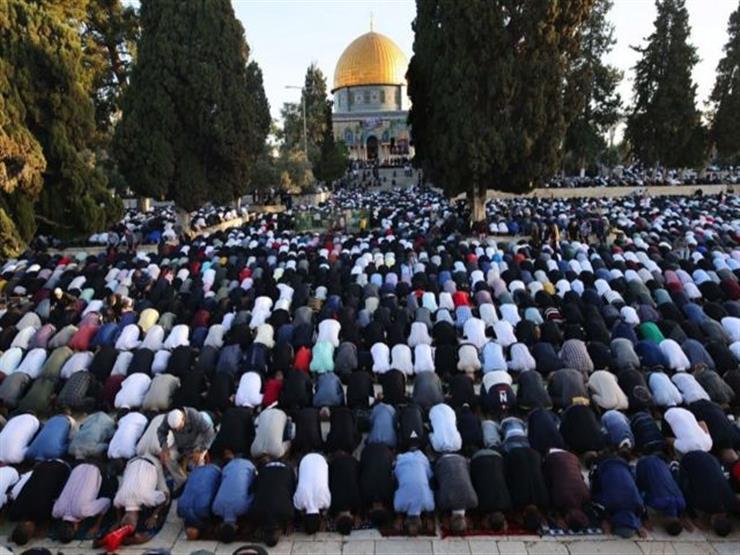 أكثر من 100 ألف مصلٍ فلسطيني يؤدون صلاة عيد الأضحى بالمسجد الأقصى