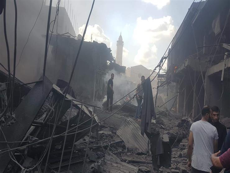 انفجار ضخم يضرب وسط غزة.. وأنباء عن ضحايا وإصابات.. (صور وفيديو)
