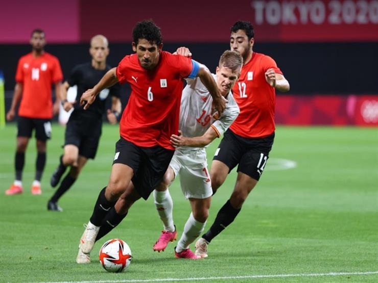 ملخص مباراة مصر وإسبانيا في أولمبياد طوكيو