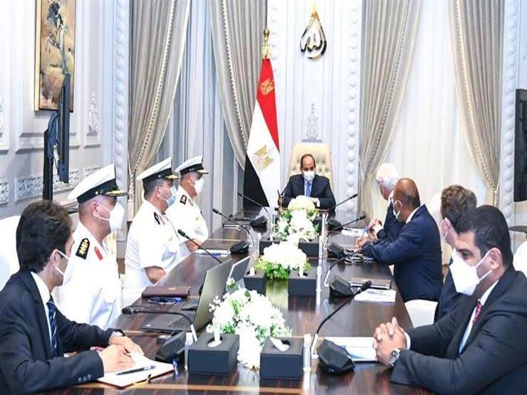 السيسي يبحث مع مالك شركات لورسن الألمانية تطوير الصناعات البحرية المصرية
