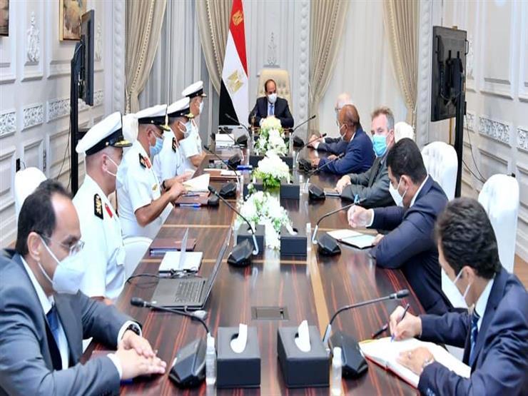 السيسي يستقبل مالك مجموعة دونيل البلجيكية لأعمال التكريك والهندسة البحرية
