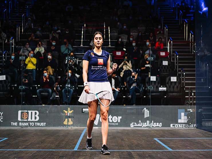 تأهل نور الشربيني إلى نهائي بطولة العالم للإسكواش بالولايات المتحدة