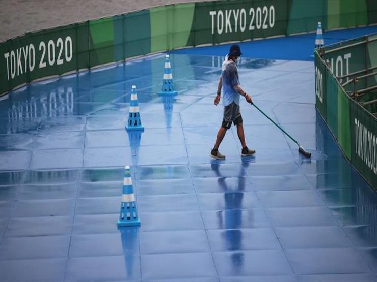 """""""عاصفة طوكيو"""" تؤجل أول منافسات الثلاثاء في الأولمبياد"""