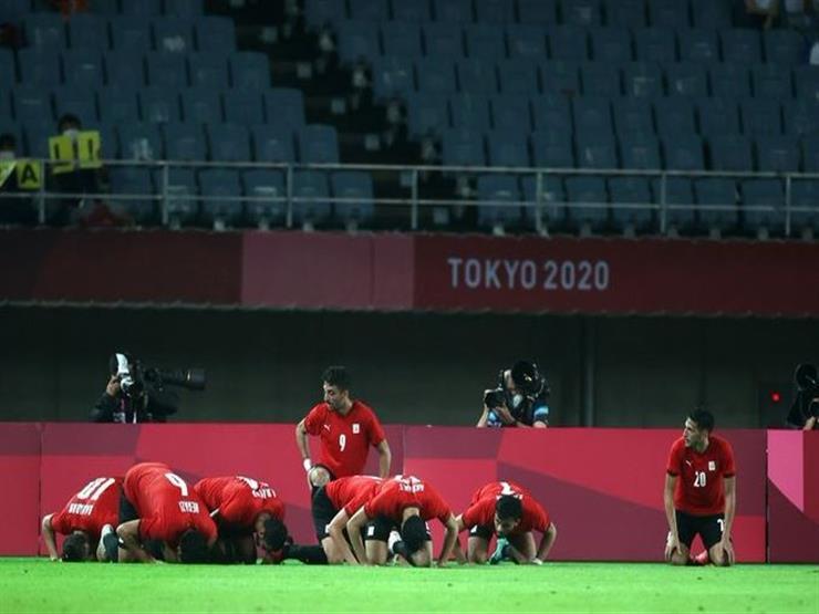 مصر تستغل الفرصة الأخيرة بهزيمة أستراليا وتتأهل لمواجهة البرازيل بطوكيو