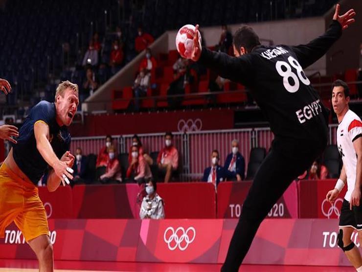"""هذا لا يحدث كل يوم .. أرقام استثنائية """" للأخطبوط المصري"""" ومتتخب اليد أمام السويد"""