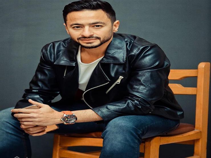 حمادة هلال يعلق على تعرض زوجته وأولاده لحادث سير