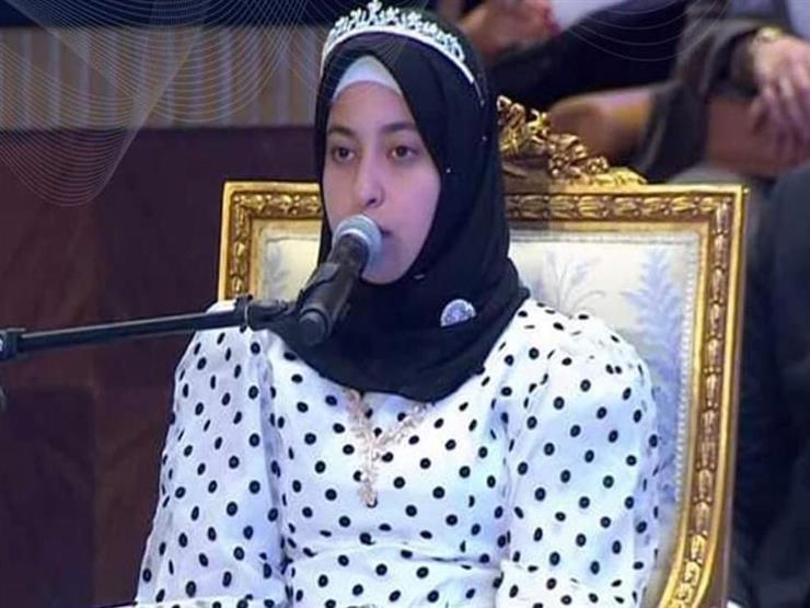 """قارئة القرآن أمام الرئيس.. رحلة """"الزهراء"""" من كفر الشيخ إلى العالمية (حوار)"""