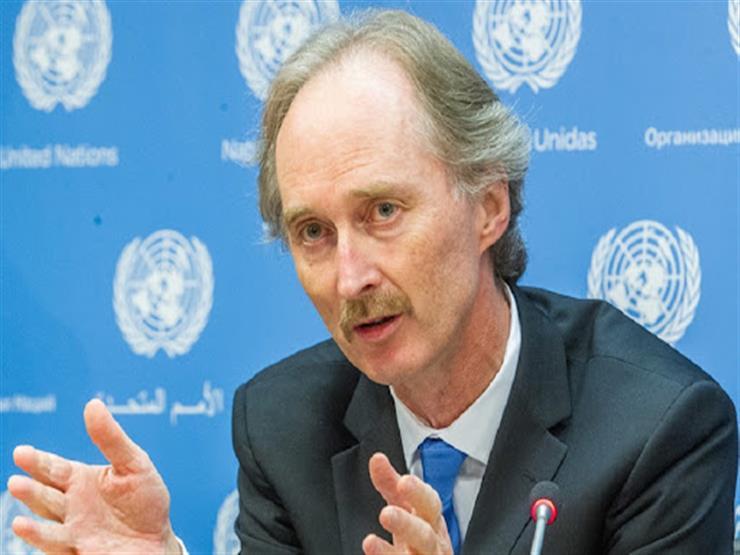 المبعوث الأممي لسوريا يحث كافة الأطراف على التمسك بمبدأ حماية المدنيين والقانون الإنساني