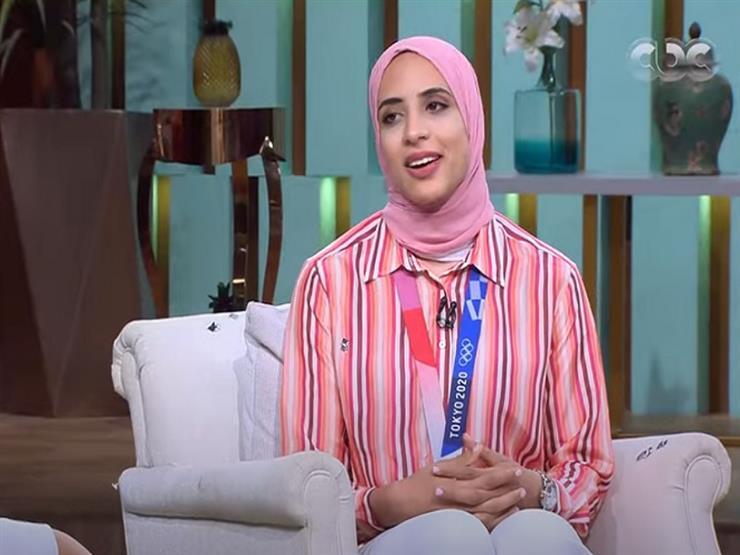 فريال أشرف: كنت حريصة على تمثيل مصر بشكل مشرف بالأوليمبياد