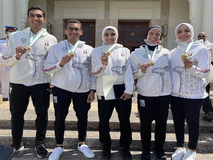 الرئيس عبدالفتاح السيسي يُكرم أبطال أولمبياد طوكيو بقصر الاتحادية