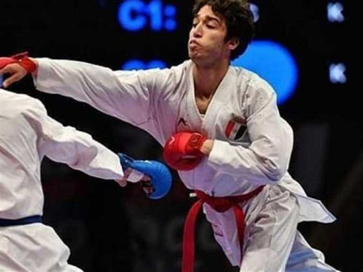 علي الصاوي يخسر المباراة الأولى بمنافسات الكاراتيه