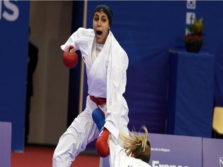 جيانا فاروق تقترب من حصد ميدالية في منافسات الكاراتيه بالأولمبياد
