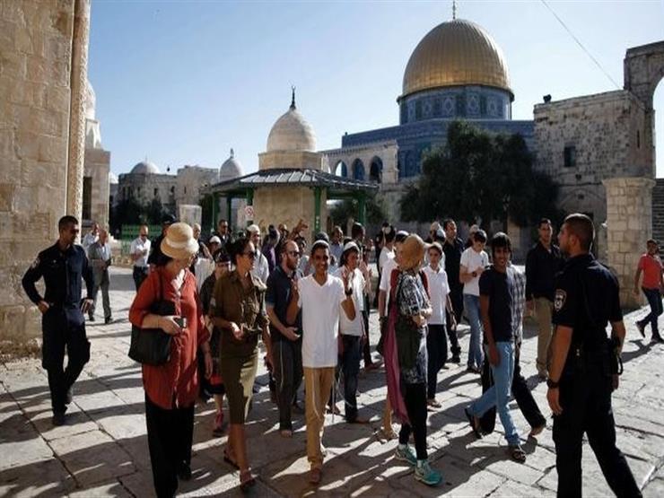 مستوطنون يقتحمون المسجد الأقصى تحت حراسة مشددة من قوات الاحتلال