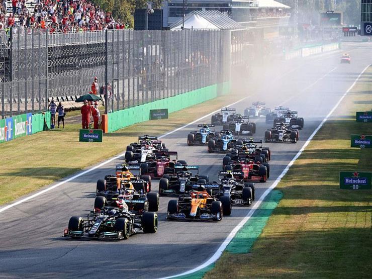 مستفيدًا من حادث هاميلتون وفيرستابن.. ريتشاردو بطلًا لسباق فورمولا-1 الإيطالي
