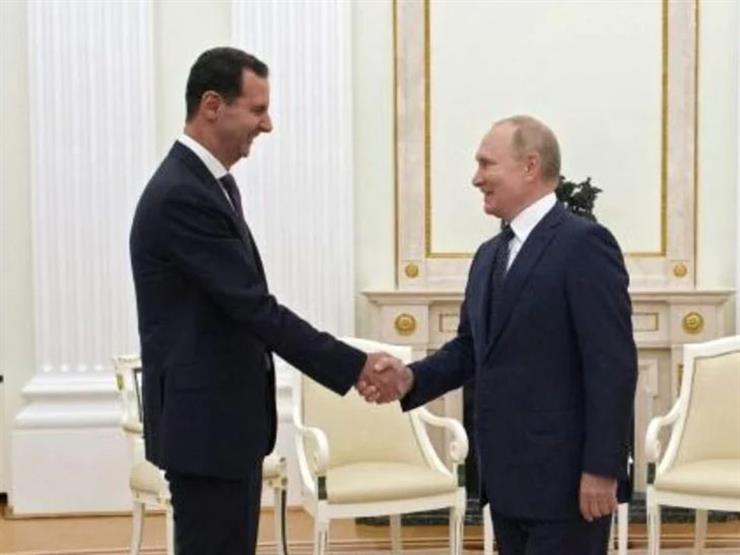 بوتين ينتقد التدخل الأجنبي في سوريا لدى استقباله بشار الأسد