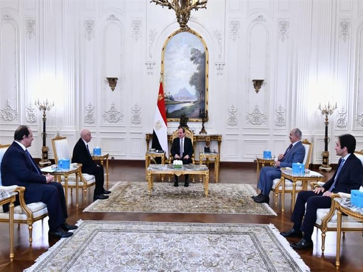 السيسي: يجب إخراج المرتزقة والقوات الأجنبية من ليبيا