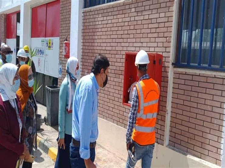 محطة معالجة سرياقوس تجتاز اختبارات تجديد شهادة التنمية الفنية المستدامة