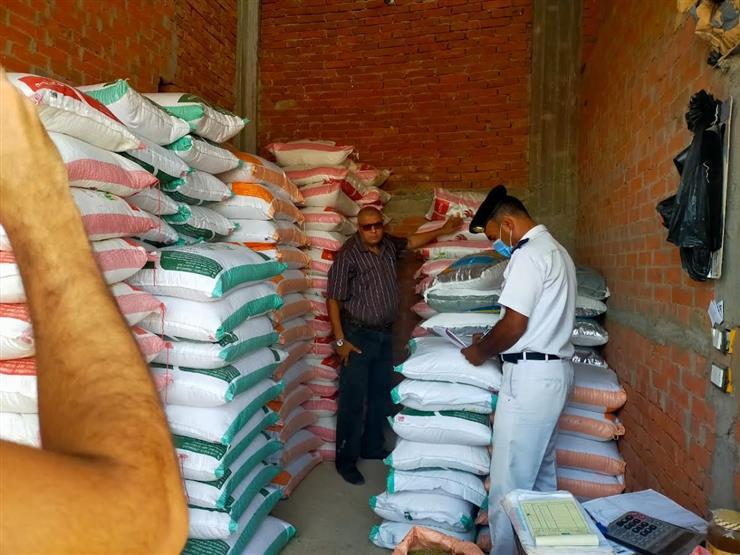 الزراعة: ضبط 3 مصانع ومخزنين لإنتاج وتخزين الأعلاف تعمل بدون ترخيص بمحافظة كفر الشيخ