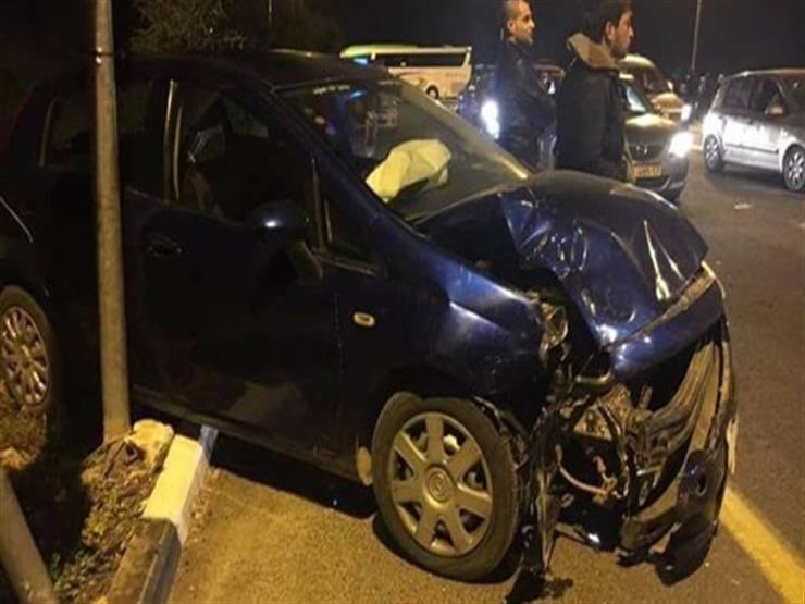 إصابة 6 أشخاص في حادثي سير ببني سويف