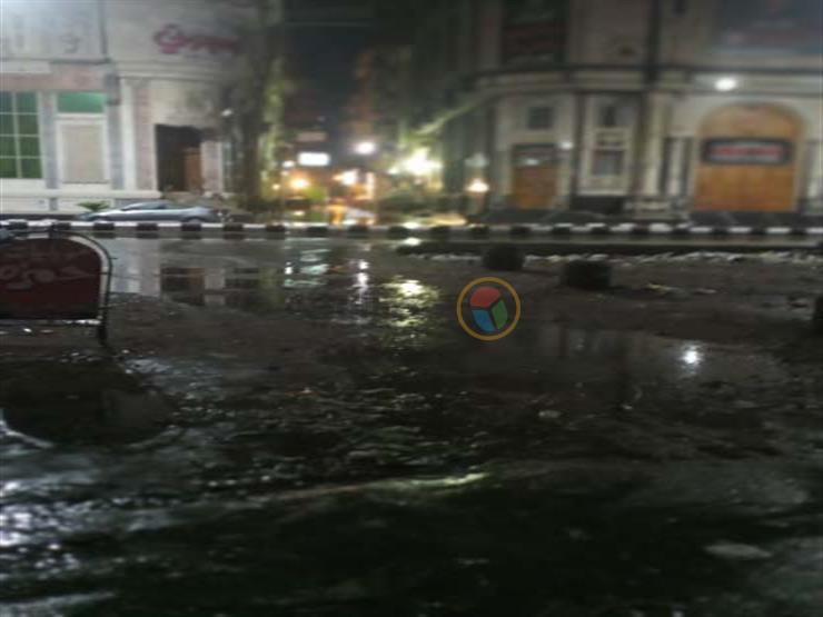"""""""الشتا بدأ"""".. الأرصاد تنشر أول فيديو للأمطار من دمياط"""