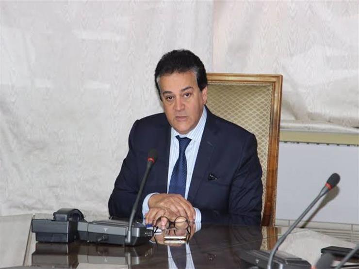 وزير التعليم العالي يبحث مع السفير العراقي سبل دعم التعاون المشترك