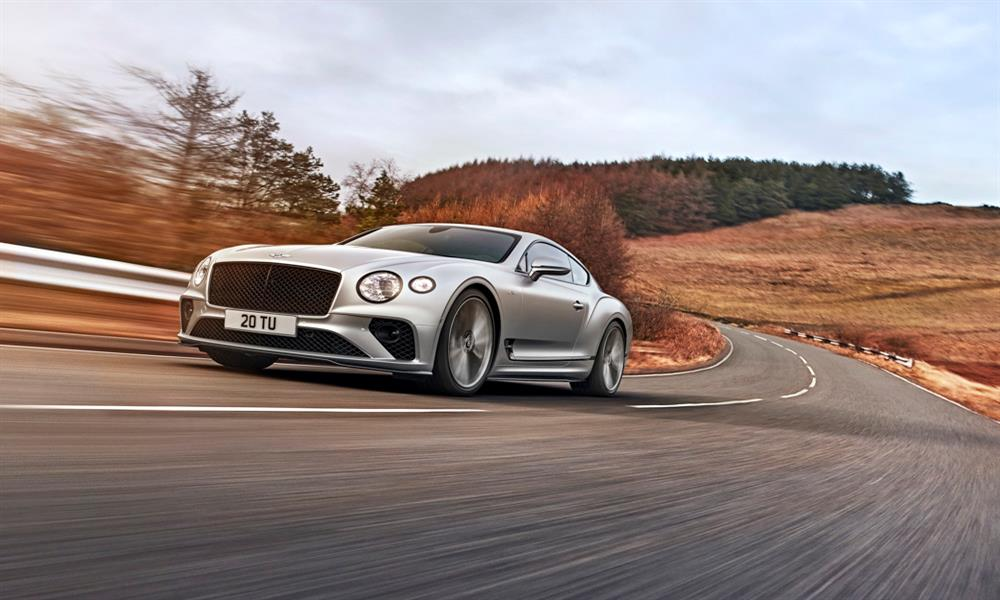 بنتلي Continental GT Speed...السيارة الأكثر ديناميكية في تاريخ الشركة
