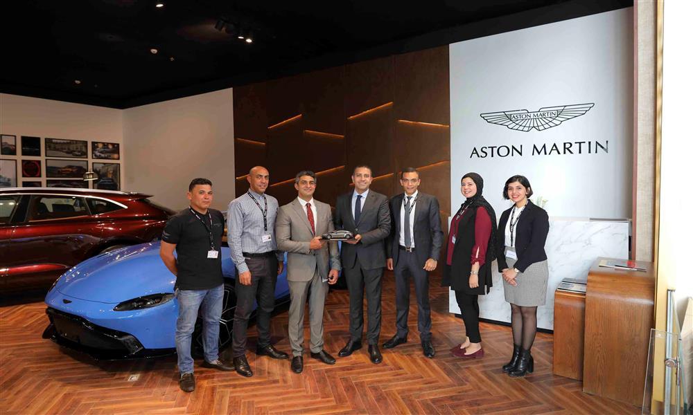 عز العرب للسيارات تفوز بجائزة التطور لأستون مارتن (1)