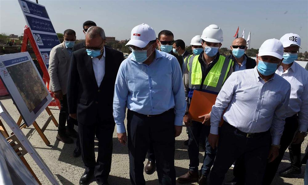 جولة رئيس الوزراء التفقدية لأعمال توسعة وتطوير وصيانة الطريق الدائري (1)