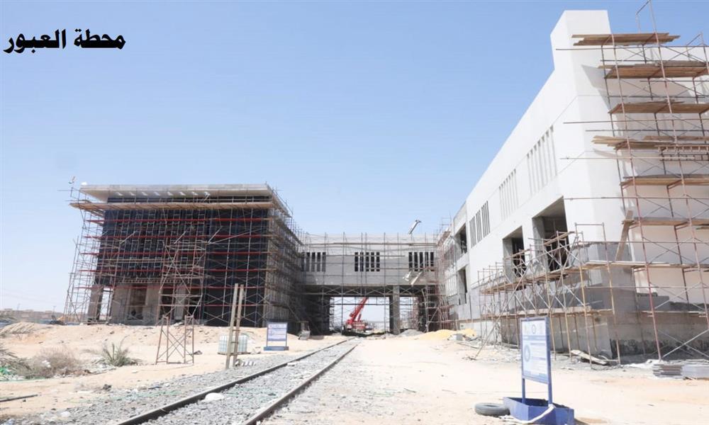 وزير النقل يتابع أعمال تنفيذ القطار الكهربائي الجديد (2)