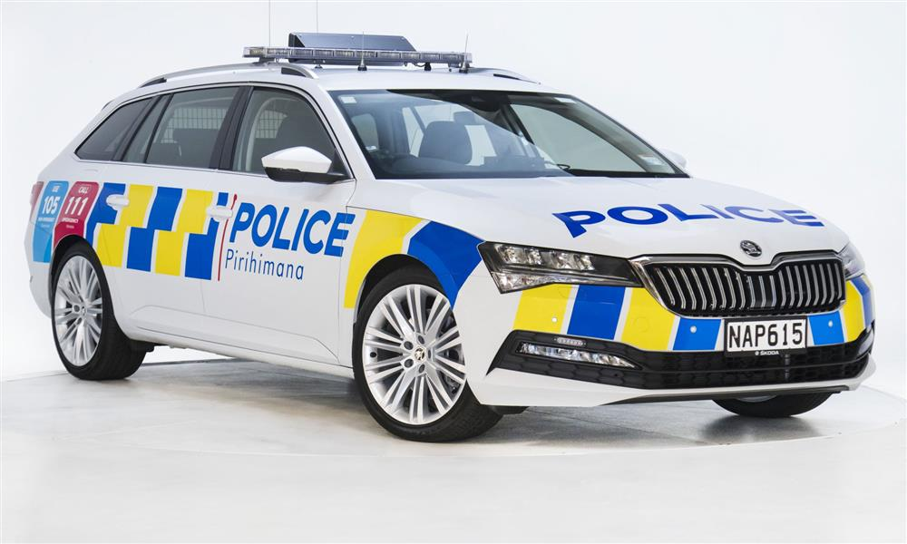 شرطة نيوزيلاندا تستعين بسكودا سوبيرب