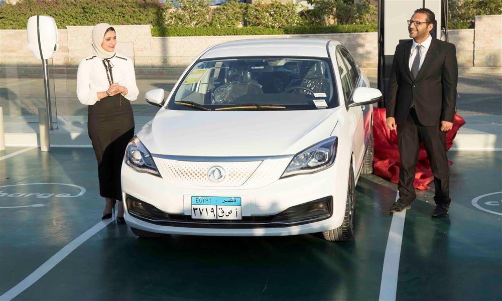 حفل الإعلان عن بدء اختبارات نصر E70 الكهربائية في مصر (2)