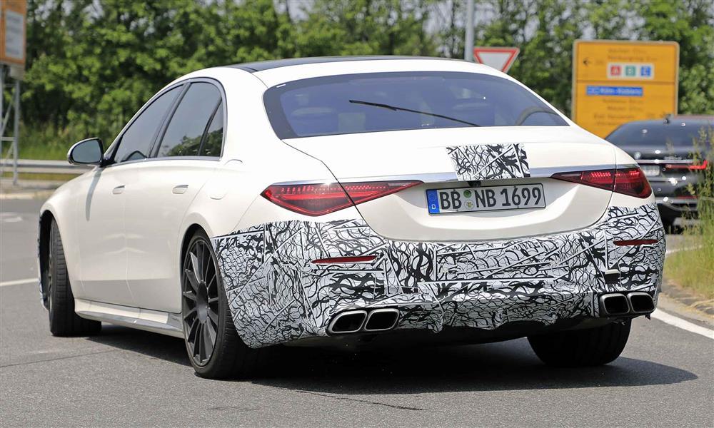 Mercedes-AMG S 63 spied-3