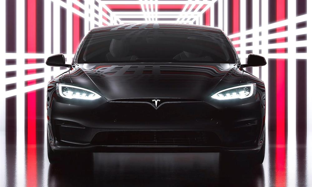 Tesla Model S Plaid new