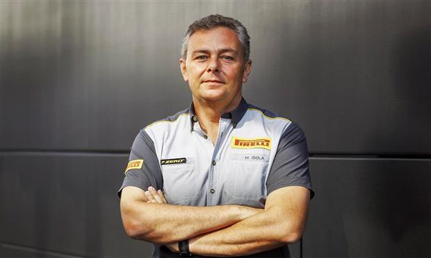 ماريو إيزولا ، مسؤول الفورمولا-1 بشركة بيريللي