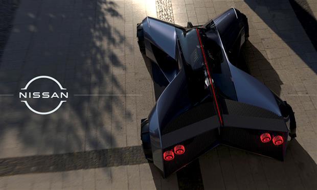 تصميم نيسان  GT-R X التخيلي لعام ٢٠٥٠