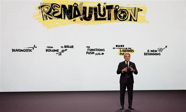 لوكا دي ميو، رئيس رينو