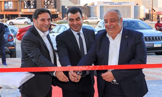 افتتاح صالة عرض الزغبي لسيارات فيات بمدينة السويس