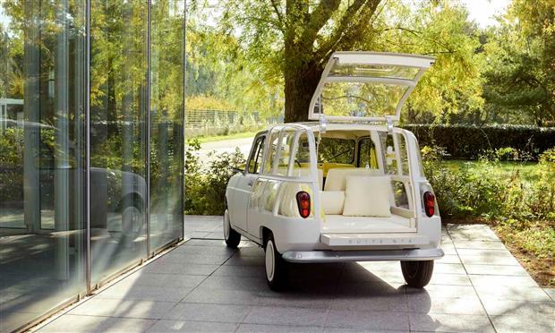 نسخة جديدة من رينو 4 على طراز الغرف الفندقية