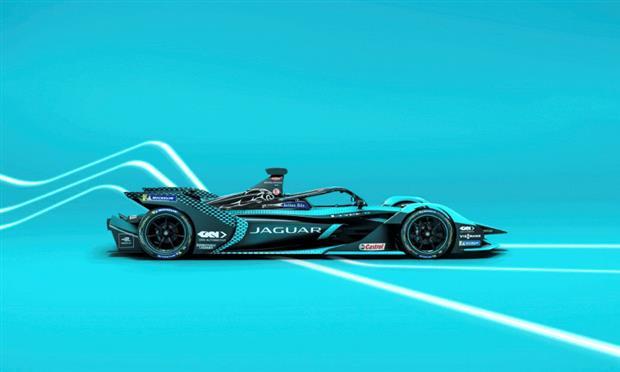 سيارة فريق جاجوار لسباقات فورمولا - أي