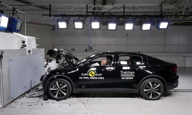 بولستار ٢ الكهربائية تحصل على ٥ نجوم في اختبارات Euro NCAP