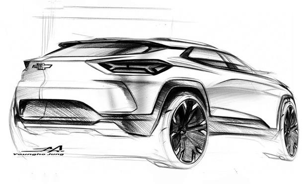 جي إم تنشر رسومات لـ SUV جديدة