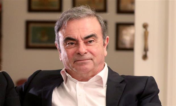 كارلوس غصن ، المدير التنفيذي السابق لتحالف صناعة  السيارات « رينو نيسان ميتسوبيشي»
