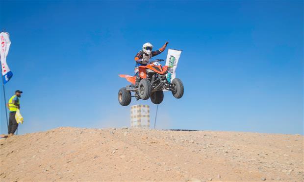الجولة الثانية لفئة ATV ببطولة الجونة الدولية للموتوكروس ٢٠٢١