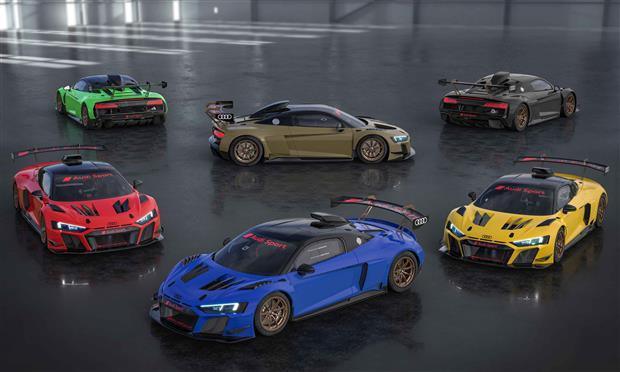 أودي R8 LMS GT2 بستة ألوان جديدة - صور