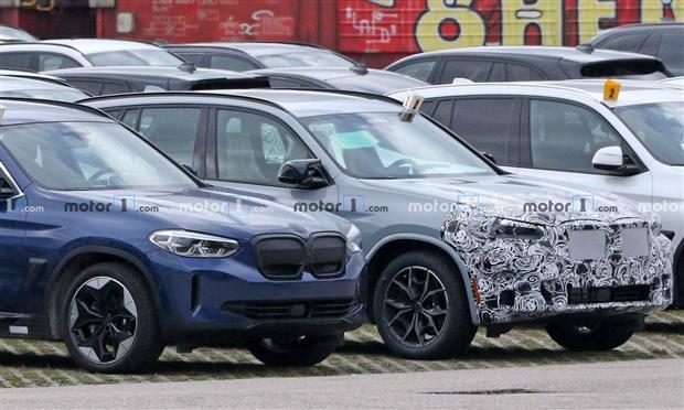 النسخة المحسنة من BMW X3 تظهر في صور تجسسية