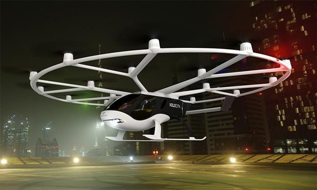 Volocopter من مجموعة دايملر بنز...التاكسي الطائر الخيالي يقترب للحقيقة
